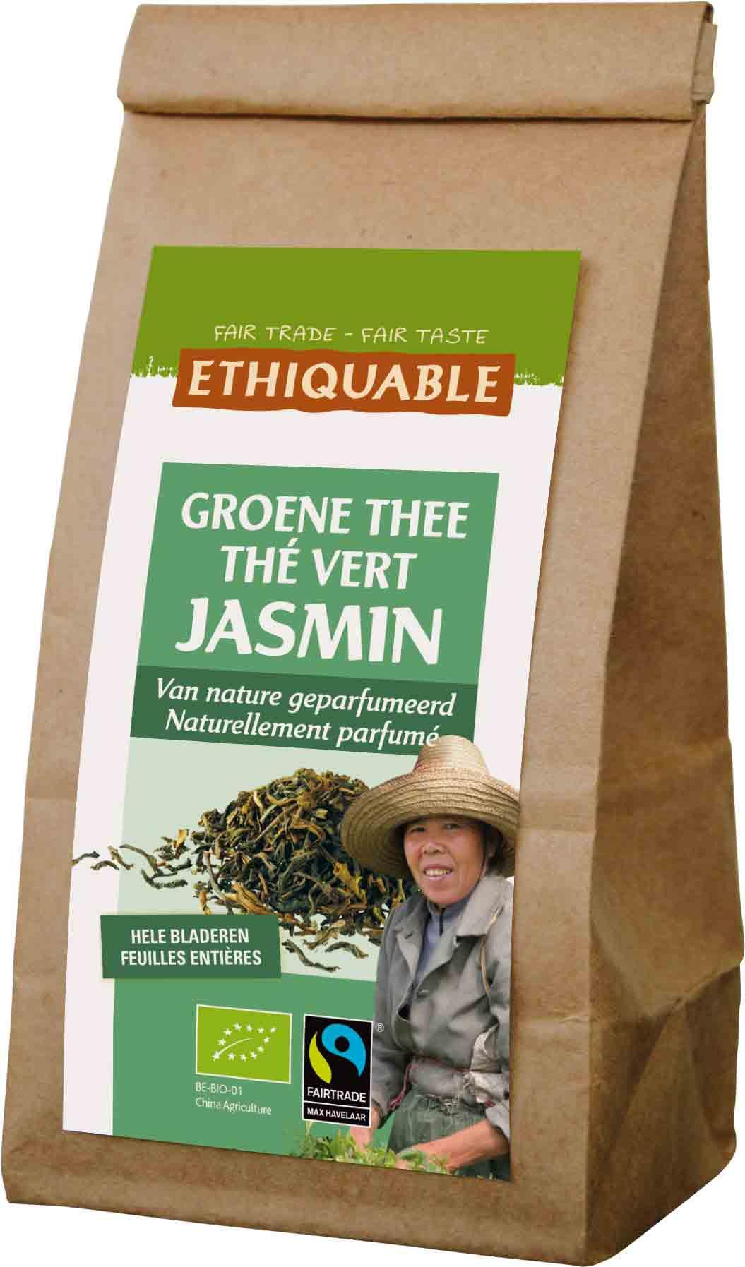 Ethiquable - Groene thee Jasmijn - 100 gr