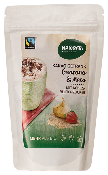 Kakao Getränk Guarana & Maca