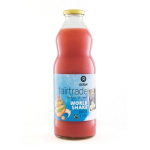 Oxfam Fair Trade - Jus worldshake – 1 l