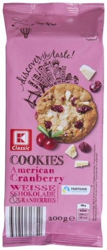 KLC Farmer Cookies weiße Schokolade Cranberry