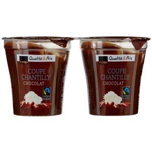 Coupe Chantilly Chocolat (2x125g)