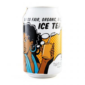 Oxfam Fair Trade – Ice tea bio – 33 cl