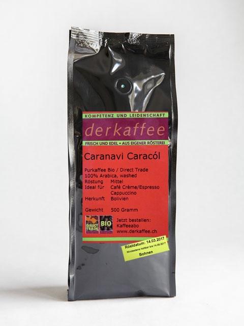 Caranavi Caracól, in Bohnen oder gemahlen
