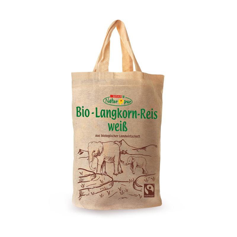 Langkorn-Reis weiß
