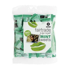 Oxfam Fair Trade – Bonbons bio à la menthe – 100 gr