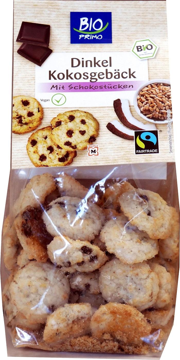 Bio Primo Fairtrade Kokosgebäck Schoko