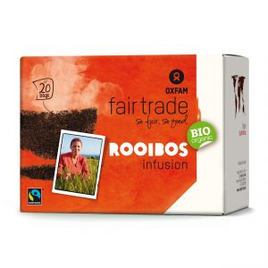 Oxfam Fair Trade – Organic Rooibos herbal tea – 36 gr