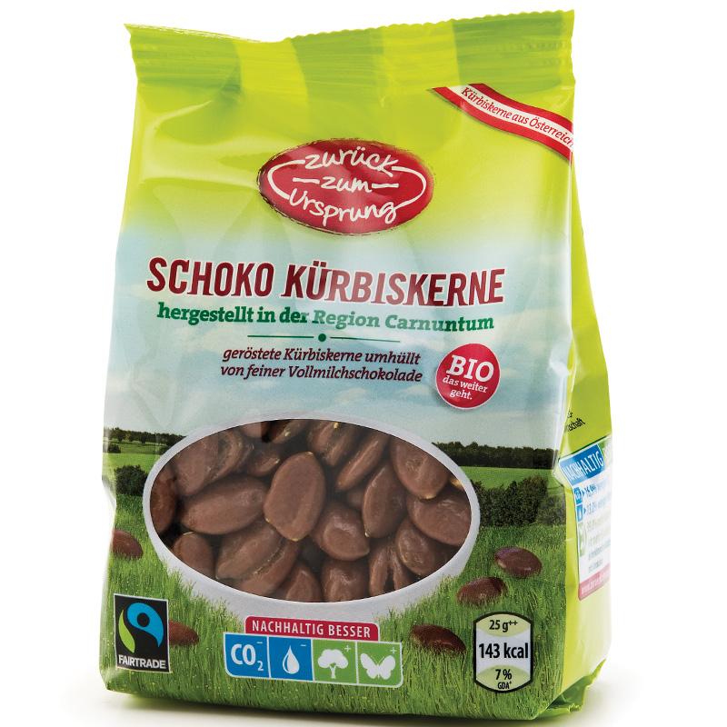 Schoko Kürbiskerne