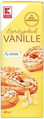KLC Spritzgebäck Vanille 300 g KMO