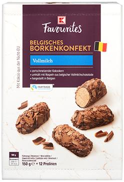 K-Favourites Borkenkonfekt Vollmilch 150g