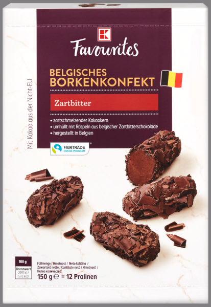 K-Favourites Borkenkonfekt Zartbitter 150g