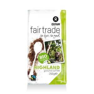 Oxfam Fair Trade – Café Highland bio moulu – 250 gr
