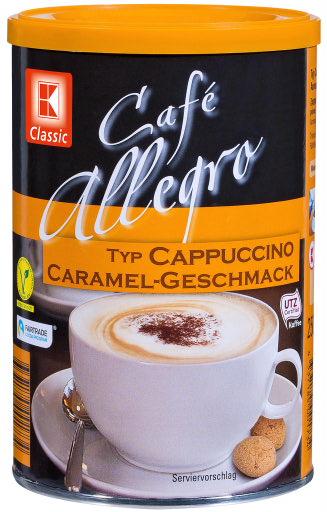 Cappuccino Karamell-Geschmack