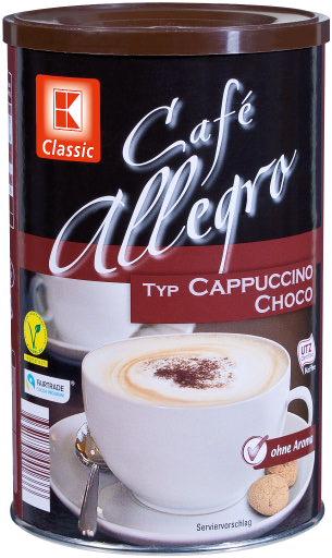 Cappuccino Schoko