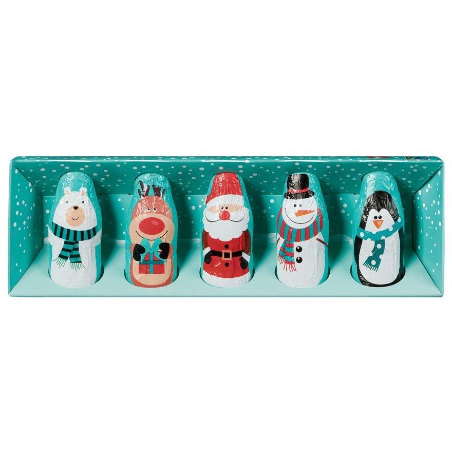 Schokoladen Winterfiguren