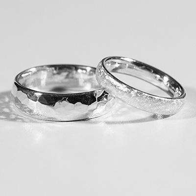 Trau- & Verlobungsringe, Silber