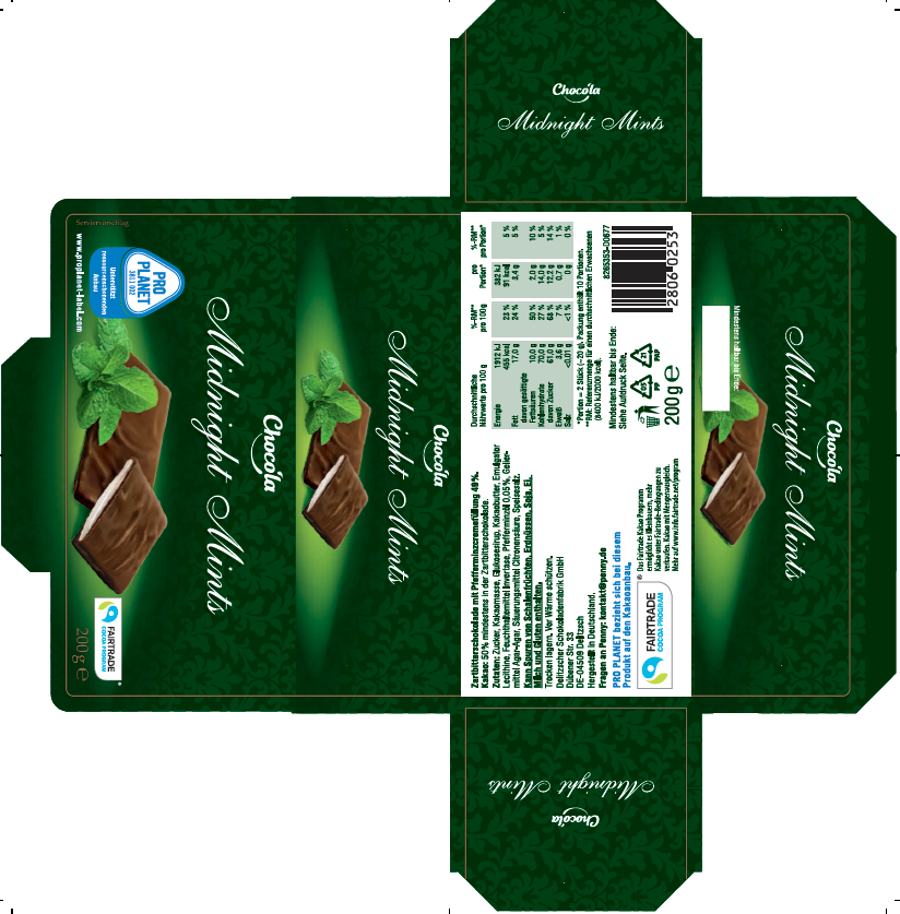 Chocola Midnight Mints