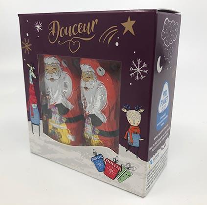 Weihnachtsmann in der Box 125g