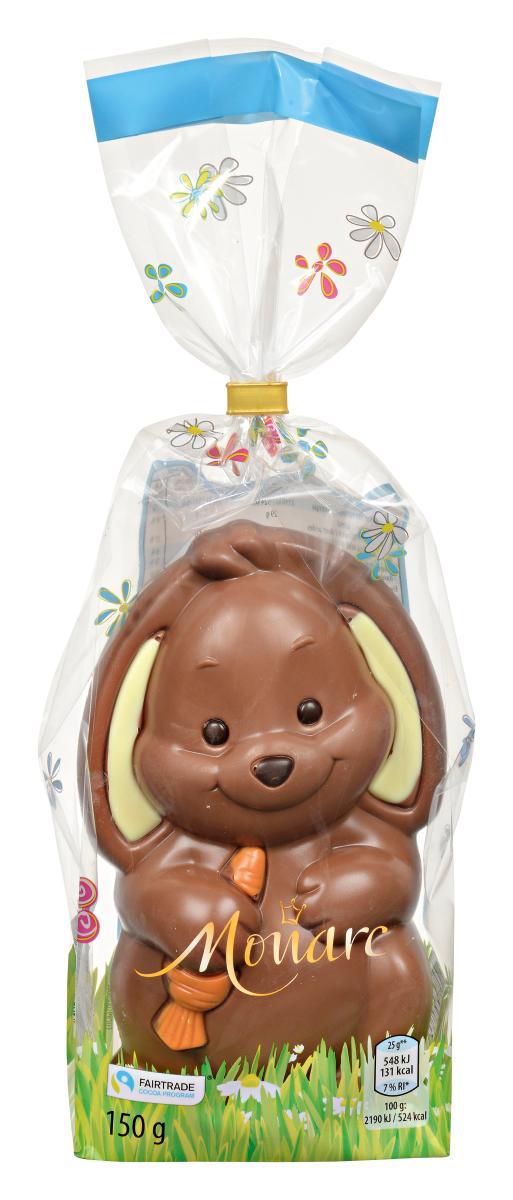 Fröhliche Ostertiere, Hase Milchschokolade