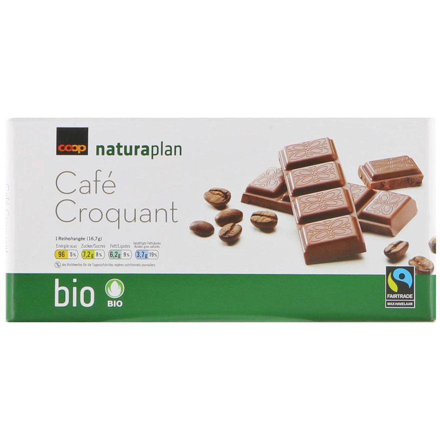 Tafelschokolade Café Croquant (3x100g)