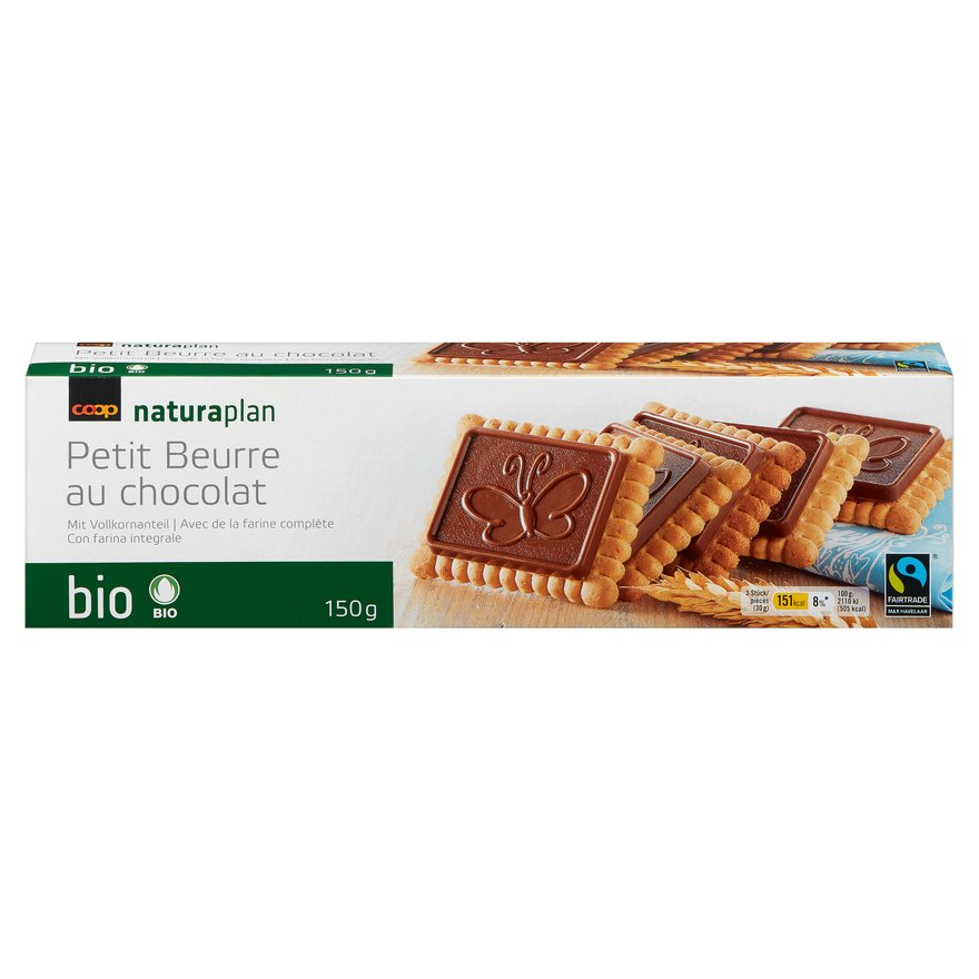 Petit Beurre au chocolat (3x150g)
