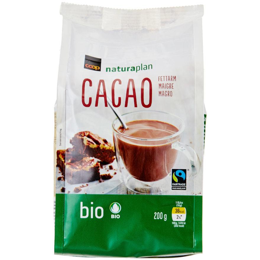 Cacao, fettarm