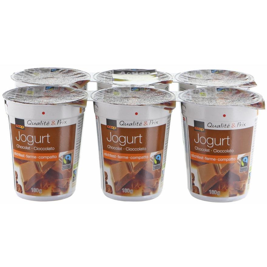 Jogurt Chocolat, stichfest (6x180g)