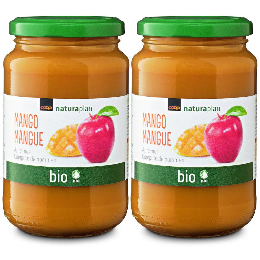 Apfelmus mit Mango
