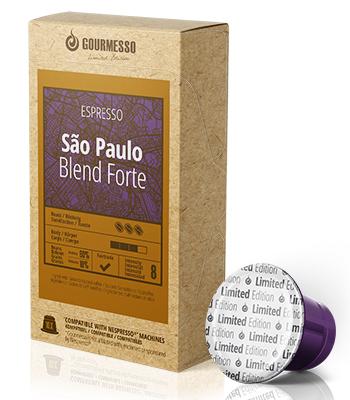 Sao Paulo Blend Forte, Kapseln