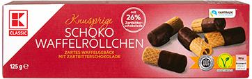 KLC Schoko Röllchen ZB 125g INT