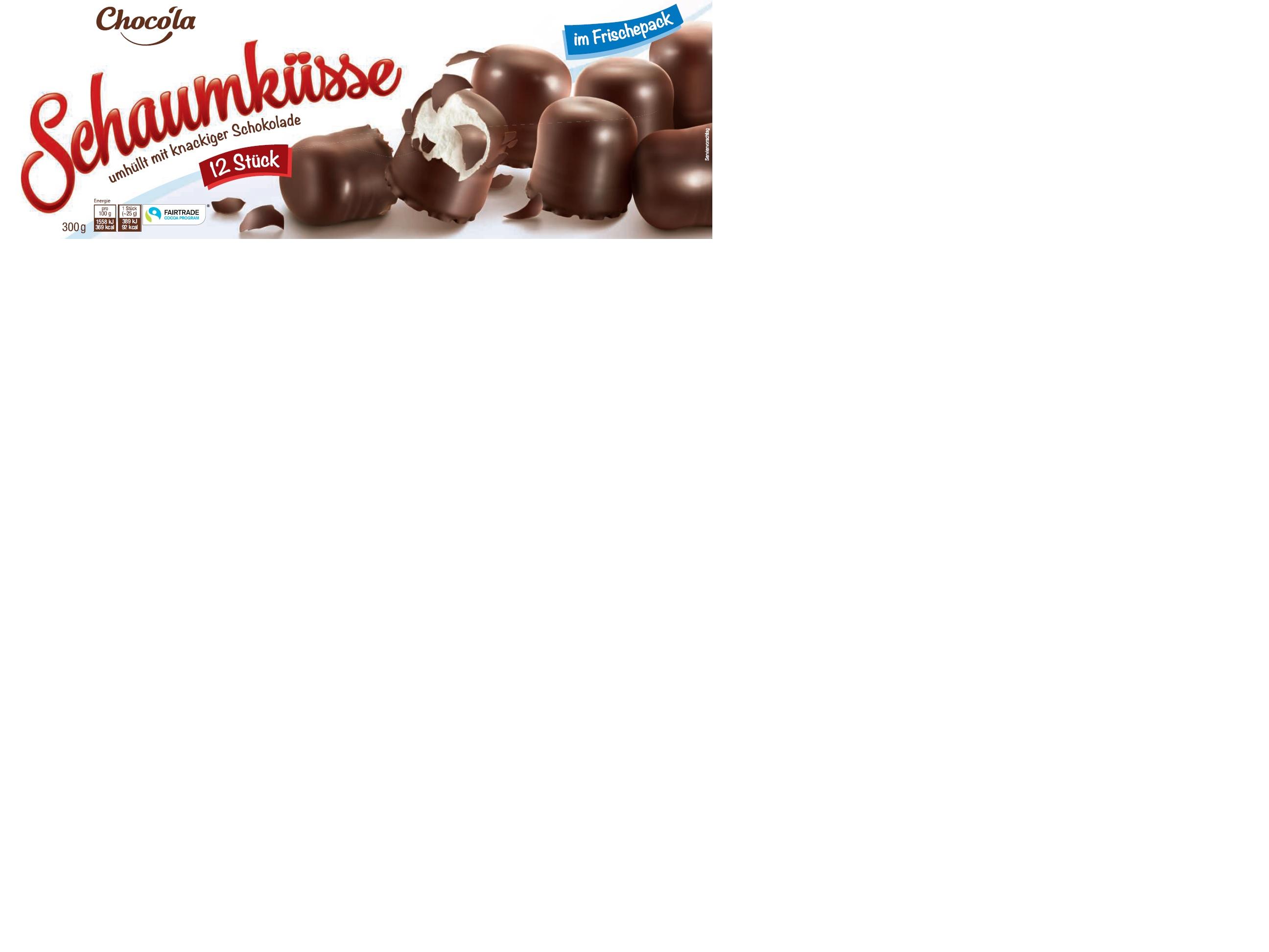311191 Choco ´la Schaumküsse FT 12er 8x300g
