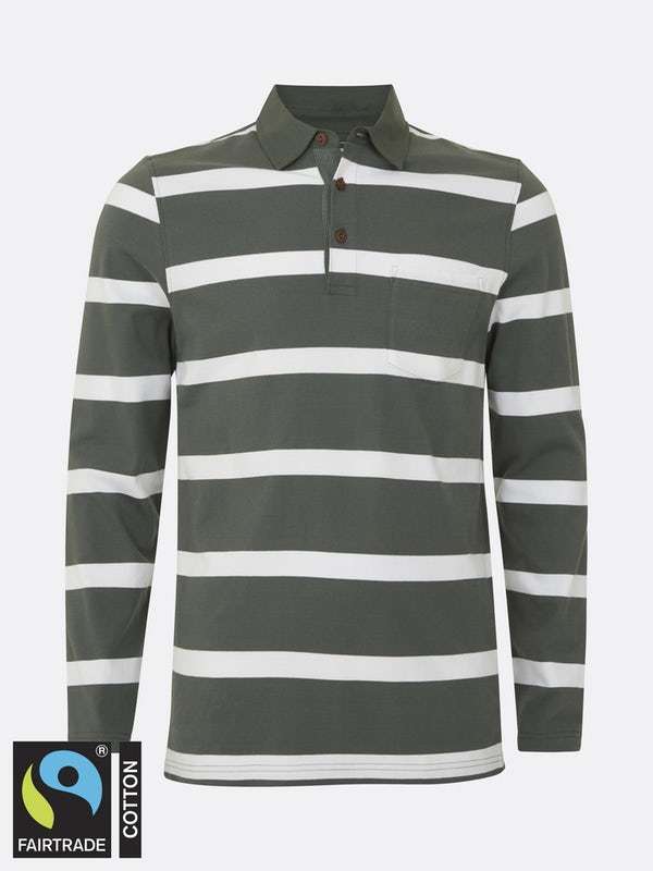 Polo Stripe Varsity