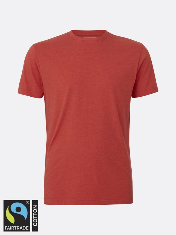T-Shirt Cotton Solid Red