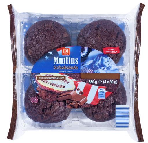 KLC Muffins Schoko 360g KMO