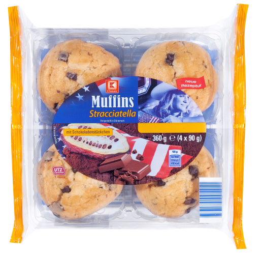 KLC Muffins Stracciatella 360g KMO