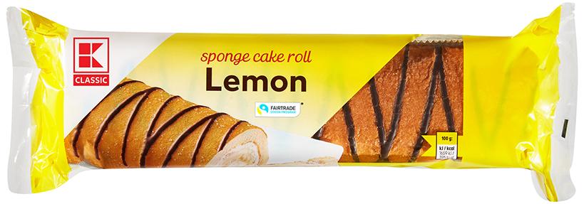 KLC Rührkuchenrolle Zitrone 400g KMO