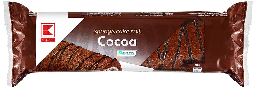 KLC Rührkuchenrolle Kakao 400g KMO