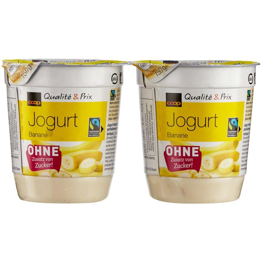 Joghurt Bananen ohne Zuckerzusatz