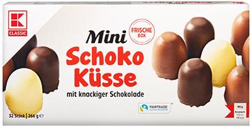 KLC Mini Schokoküsse 266g