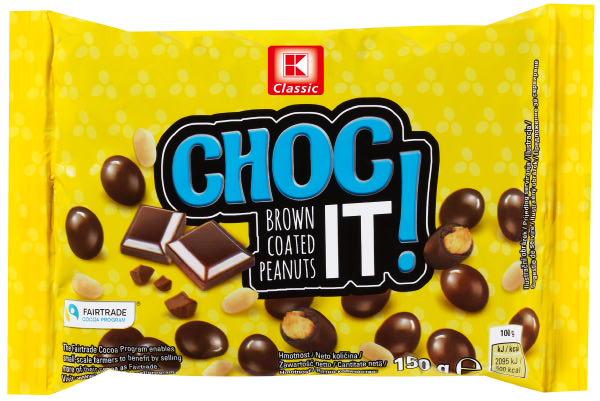 KLC braune Erdnüsse 150g
