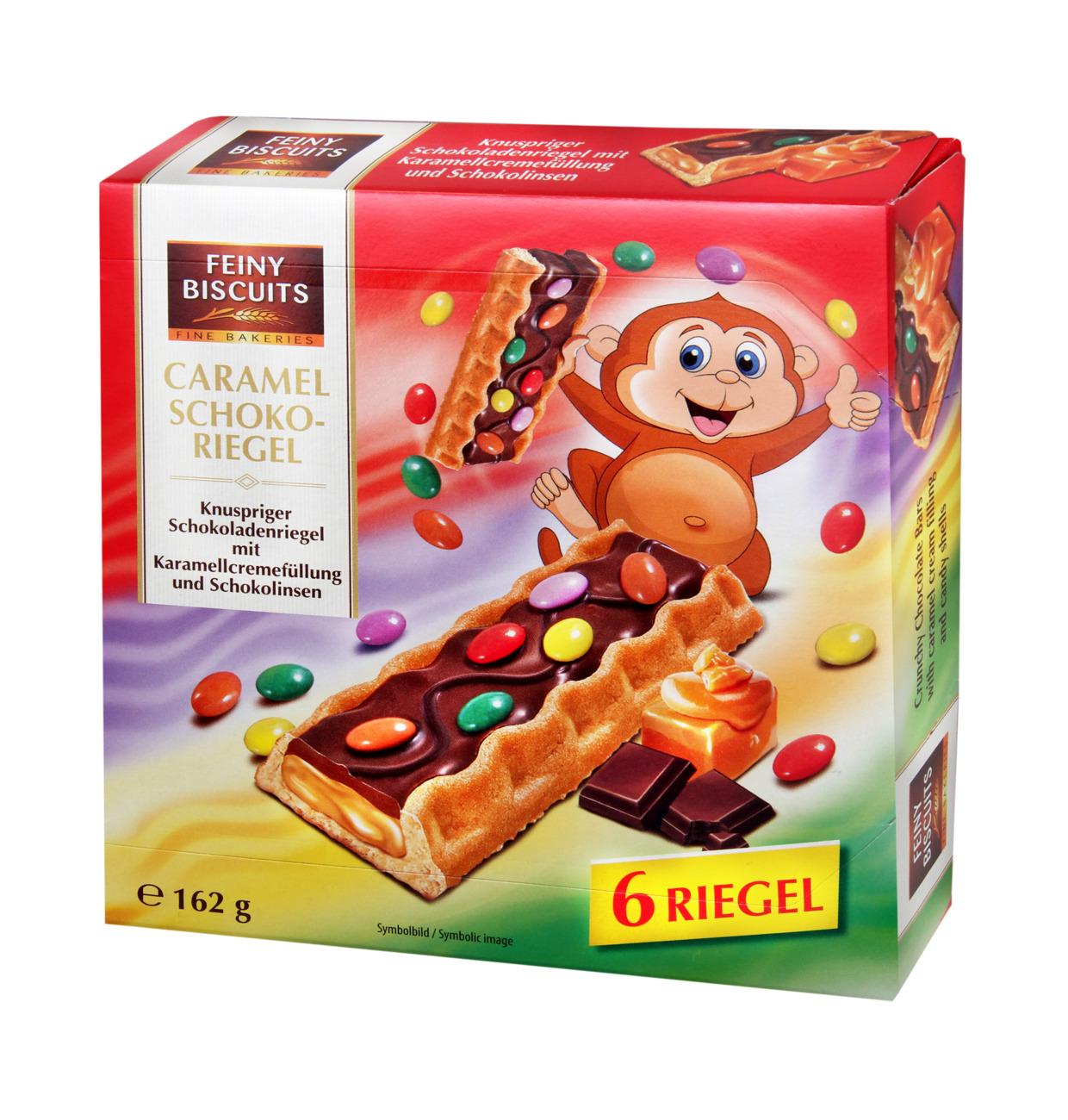Caramel Schoko-Riegel
