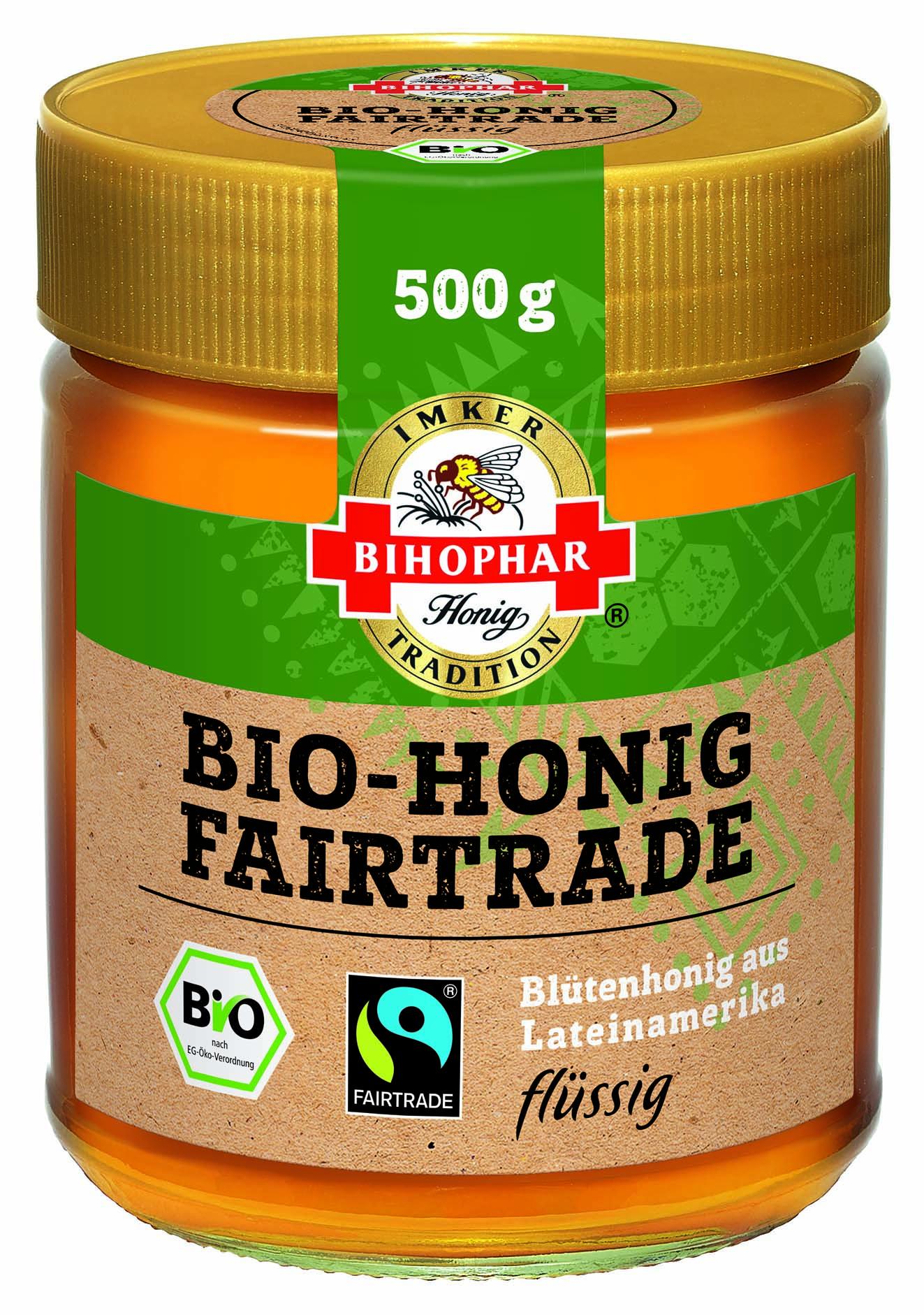 Bihophar Bio-Honig Fairtrade, flüssig