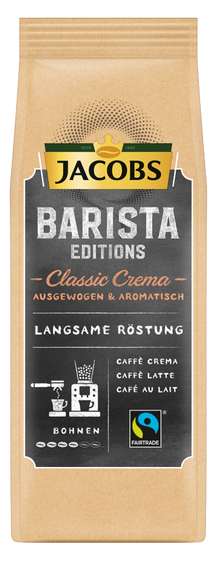 Jacobs Barista Editions Classic Crema