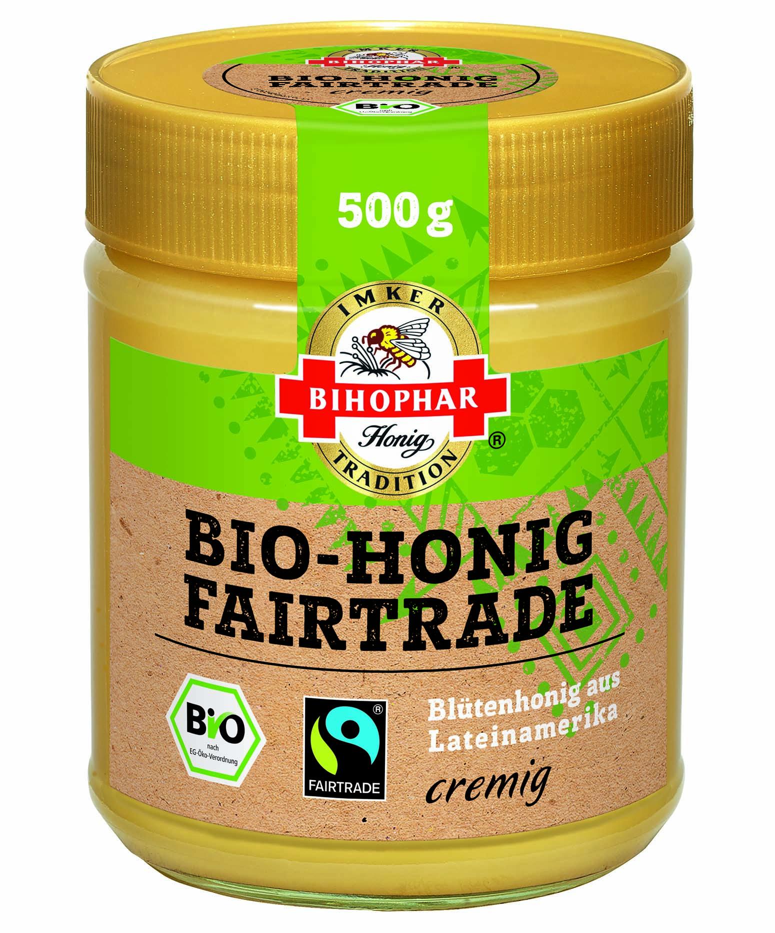 Bihopohar Bio-Honig Fairtrade, cremig
