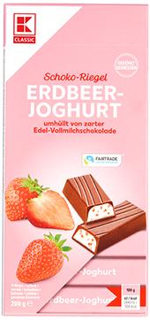 KLC Schokostäbchen Erdbeer-Joghurt 200g