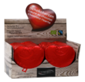 Herzen Vollmilchschokolade