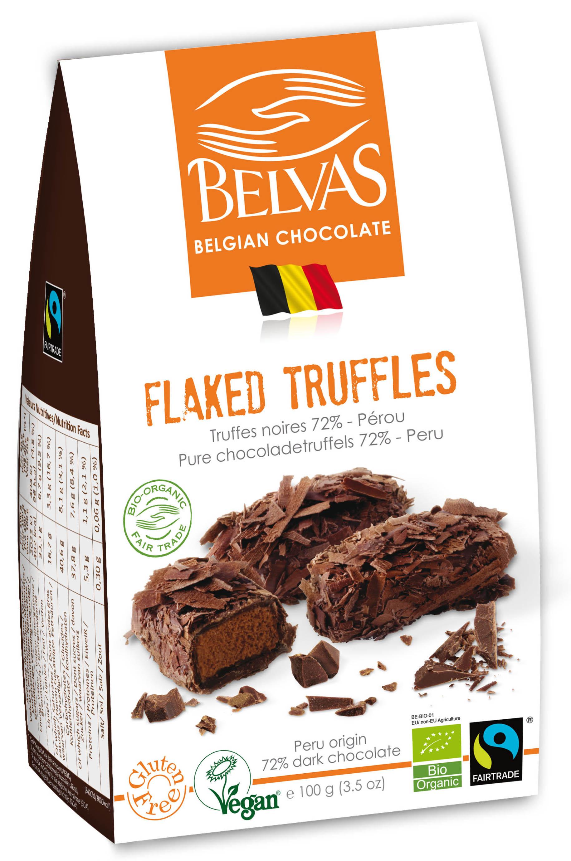 Belvas – Truffes paillettes – 100 gr
