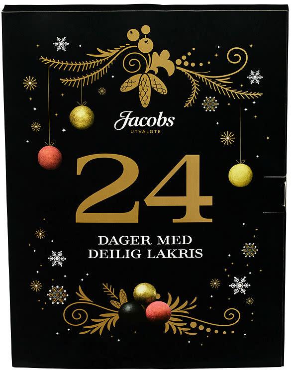 Jacobs Utvalgte julekalender med lakris