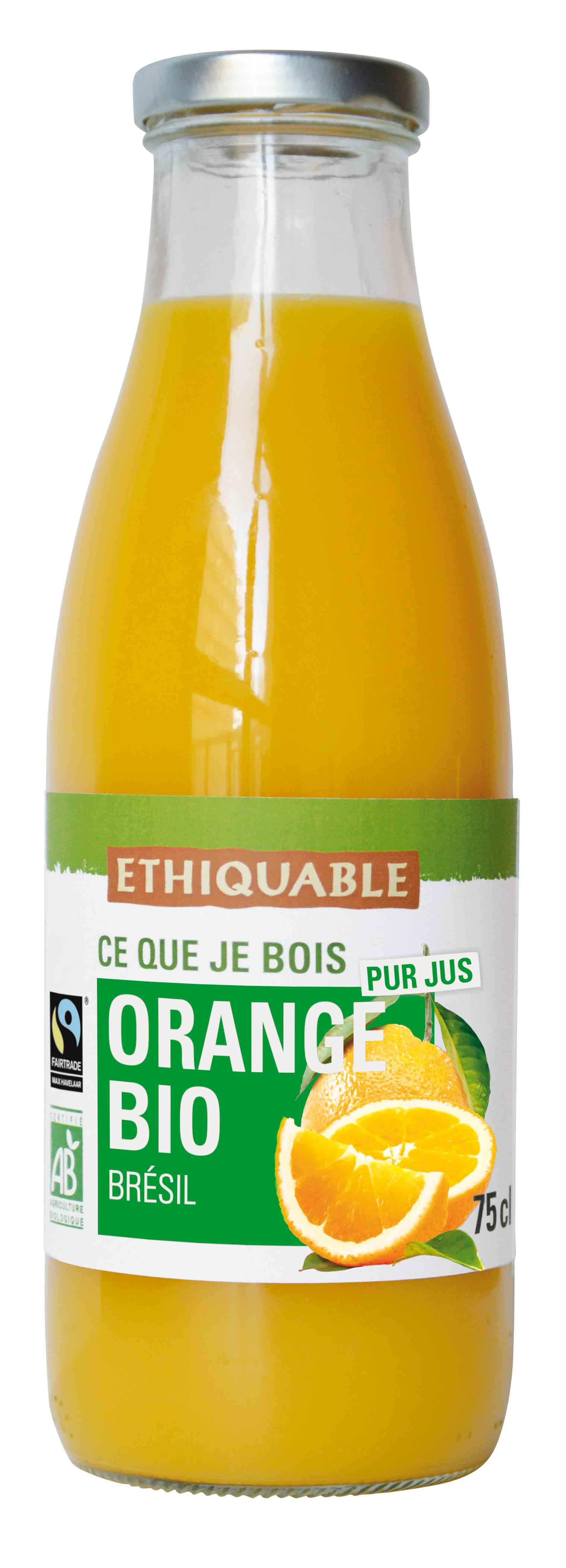 Pur jus d'Orange Bio