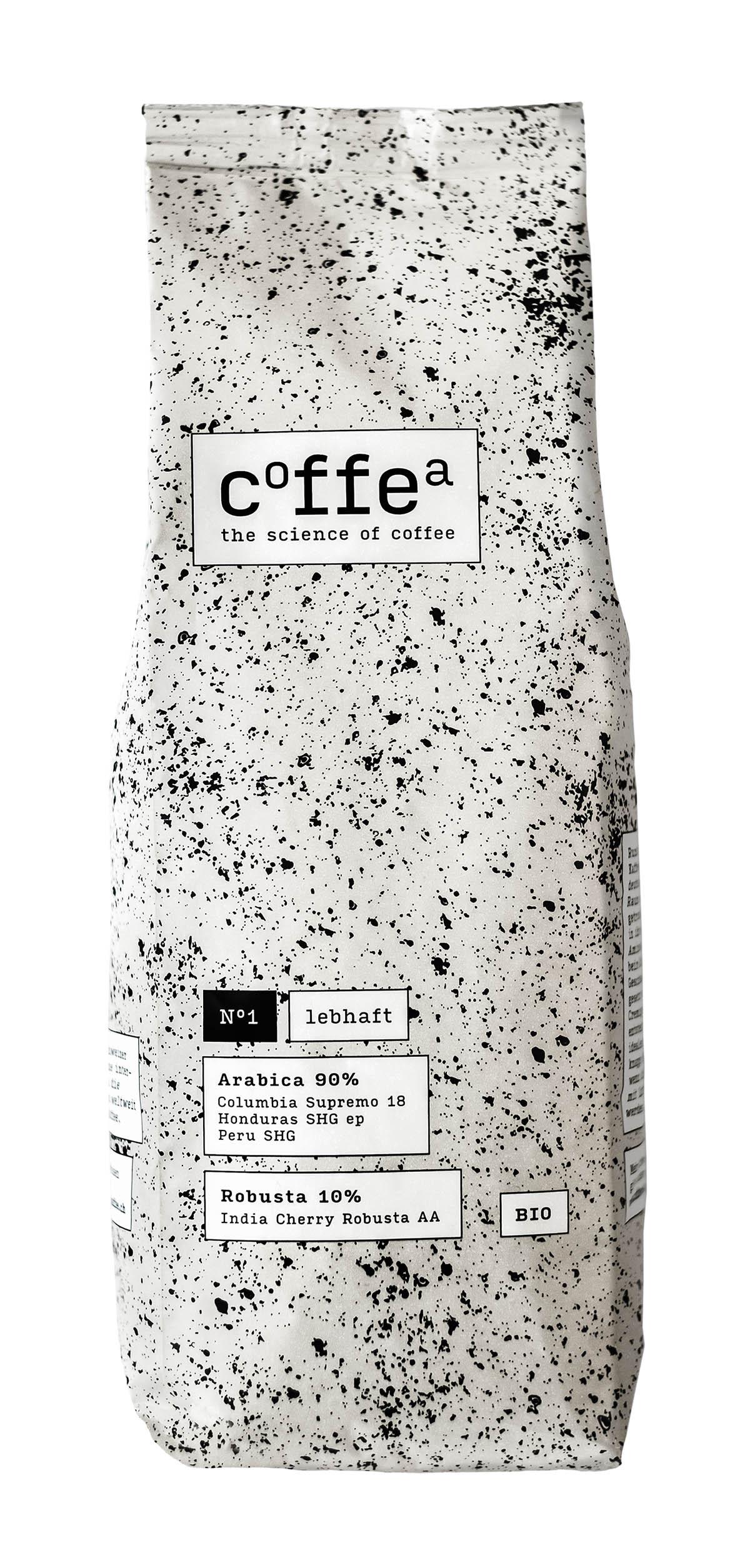 Röstkaffee lebhaft